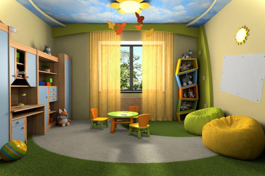 thiết kế phòng học đẹp