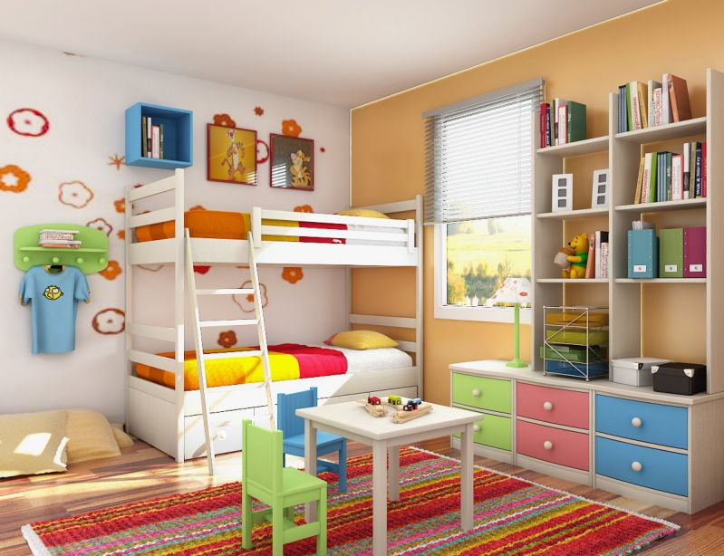 trang trí phòng học đẹp bằng nhiều đồ chơi