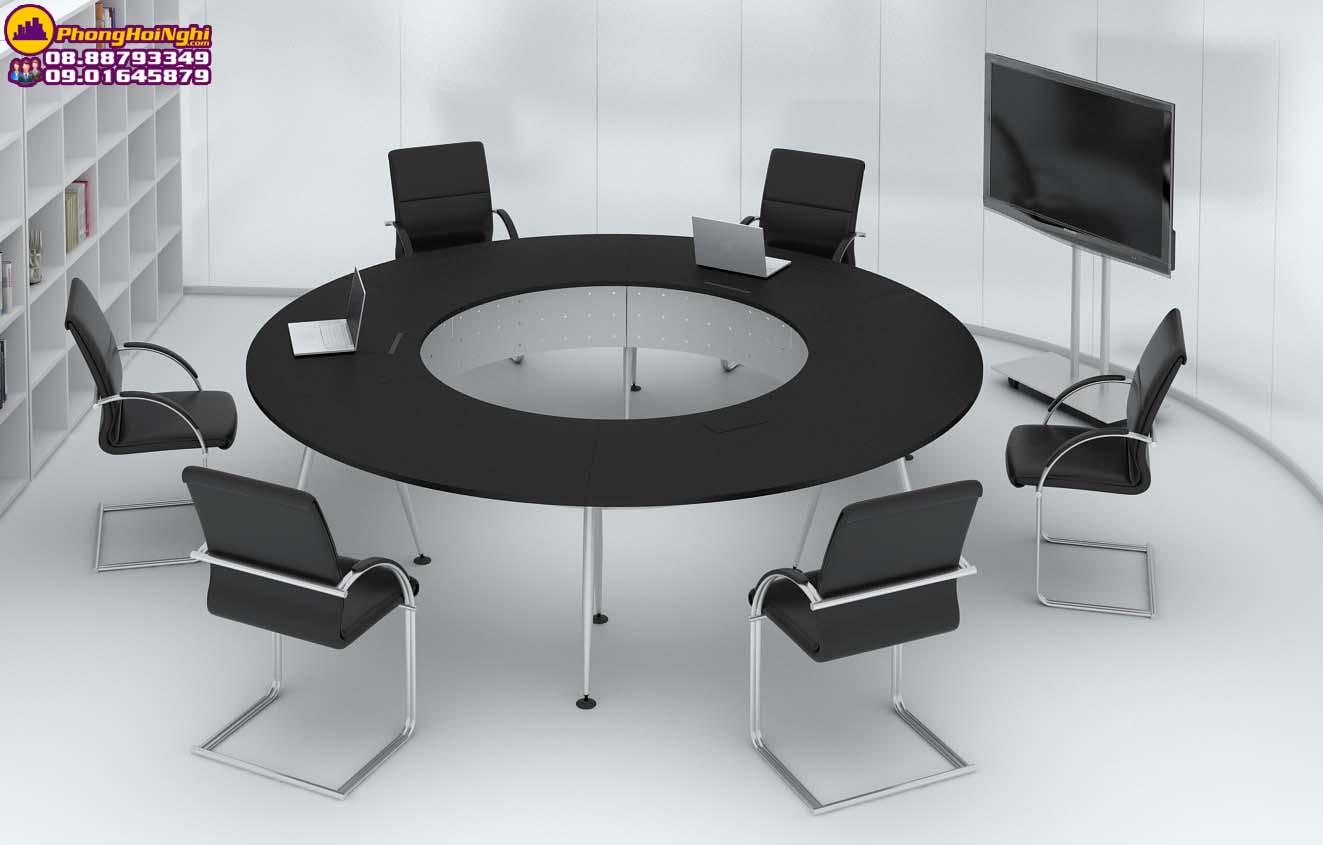 setuo phòng họp kiểu bàn tròn
