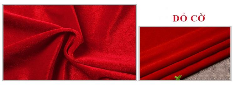 phông hội trường màu đỏ cờ