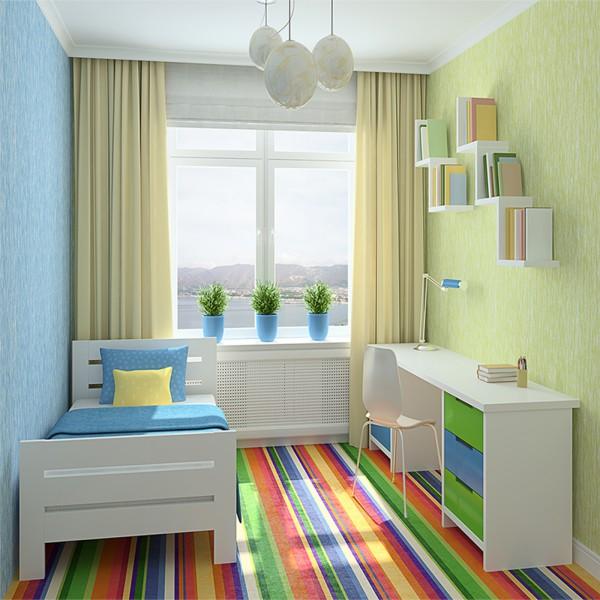 thiết kế phòng học đẹp không gian hẹp