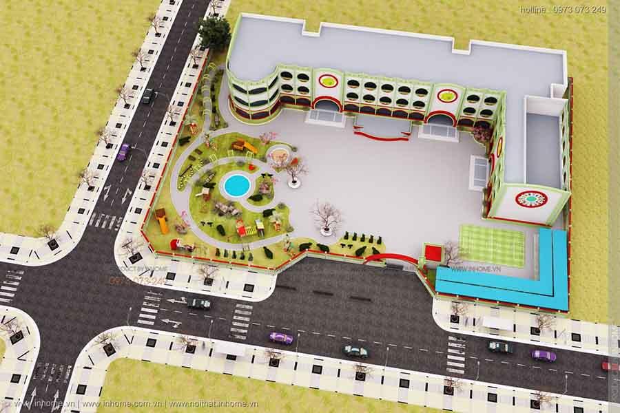 tiêu chuẩn thiết kế trường tiểu học