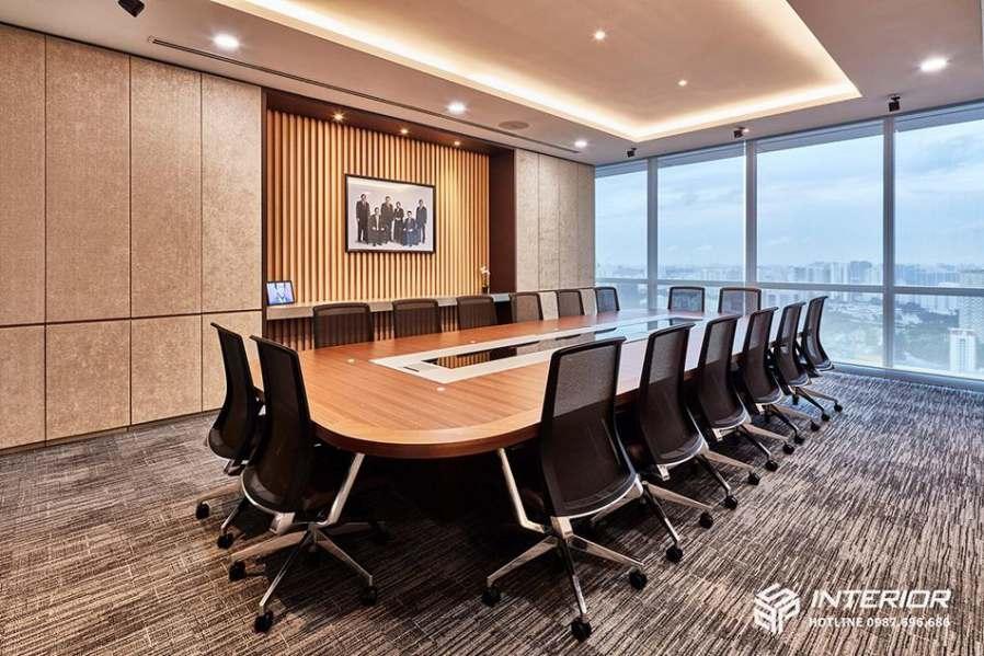 trang trí phòng họp không gian mở