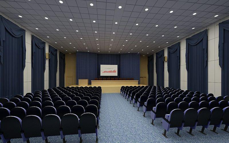 thiết kế hội trường để hội thảo