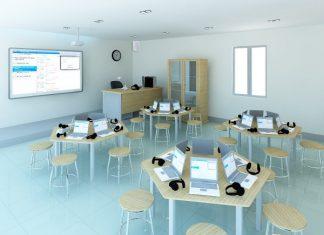 phòng học đa năng comweb