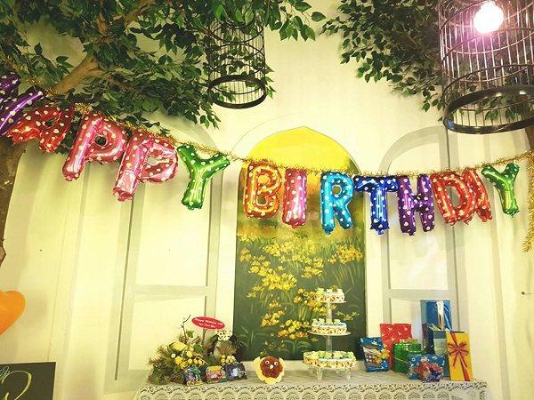 tổ chức sinh nhật nhà hàng three tress