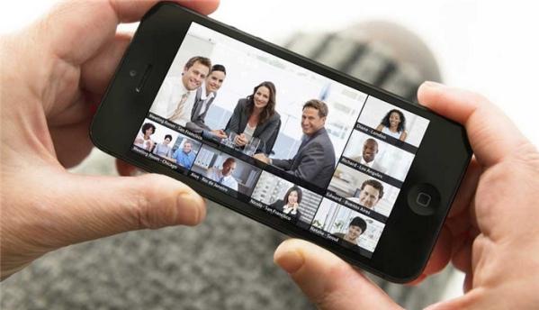 hội thảo trực tuyến bằng điện thoại