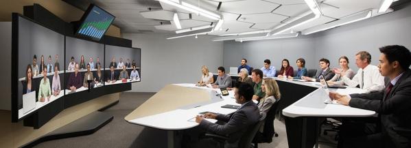 hội thảo trực tuyến bằng phòng họp