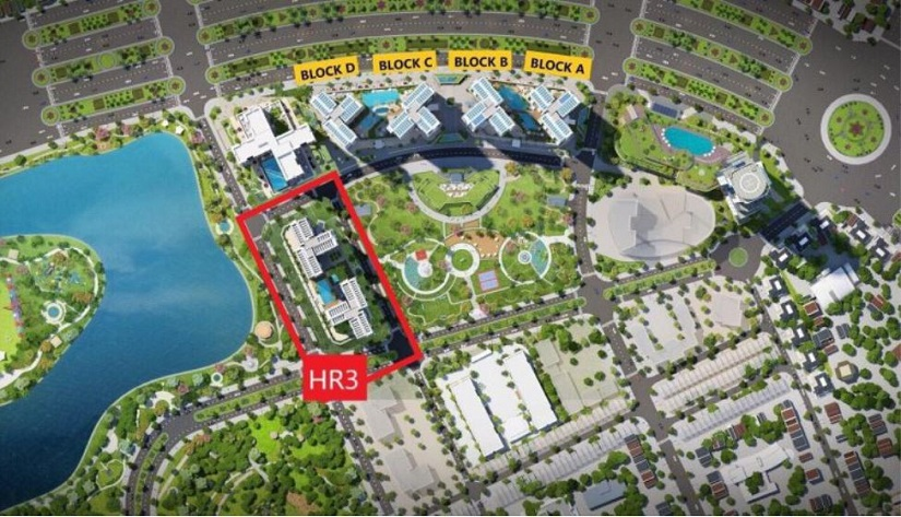 Block HR3 được đánh giá đẹp nhất tại dự án Eco Green Sài Gòn | Giá bán từ CĐT 2