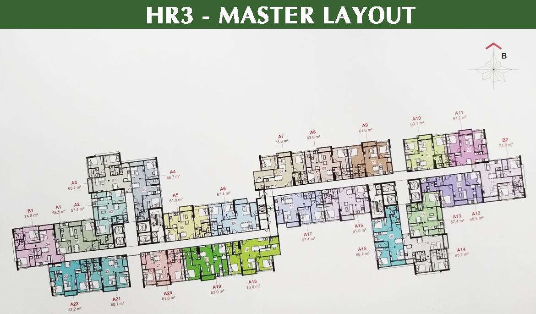 Block HR3 được đánh giá đẹp nhất tại dự án Eco Green Sài Gòn | Giá bán từ CĐT 3