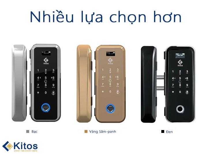 Kitos KT-GL12 sự lựa chọn hoàn hảo cho khóa vân tay cửa kính văn phòng? 3